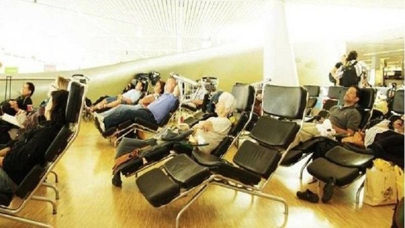 A good night sleep before departure