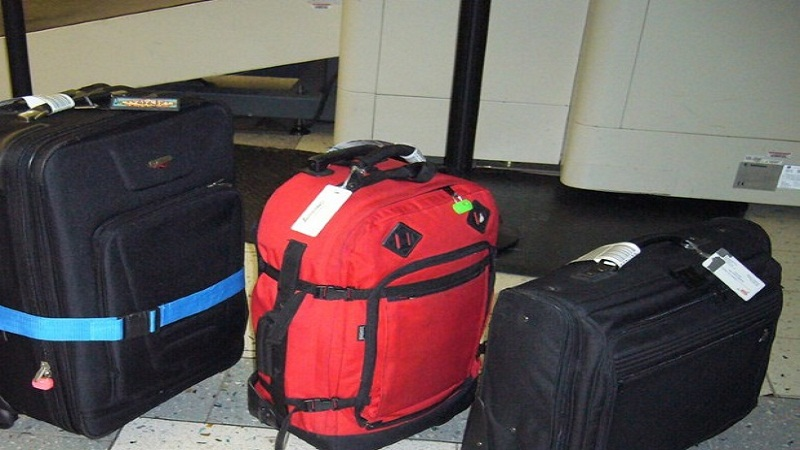 Limitations of carrying baggage