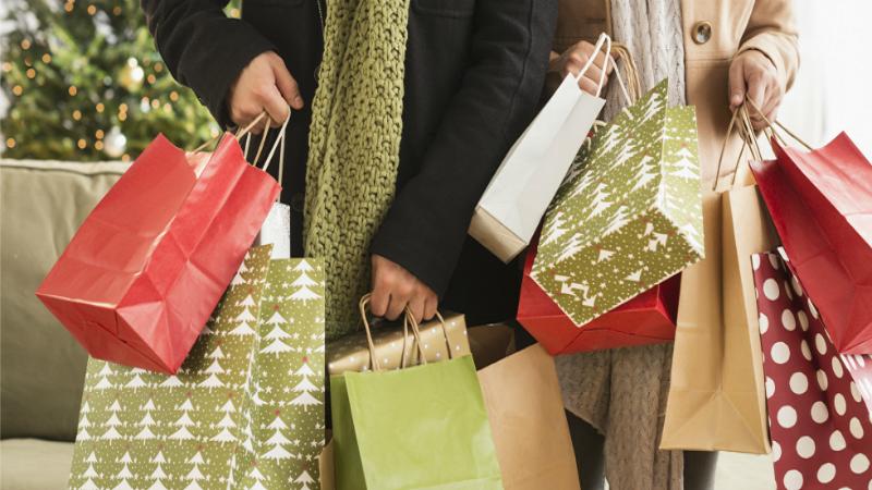 Purchases during Christmas season